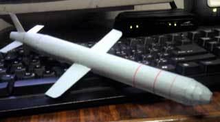 Bgm109tomahawkpapercraftmissile