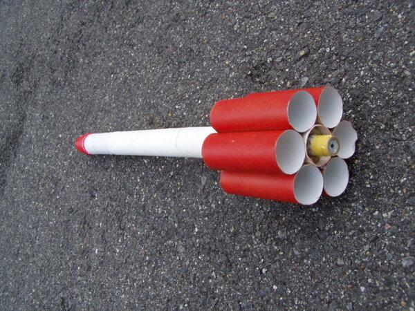 チューブフィンロケット