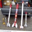 廃材利用モデルロケット